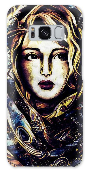 Girl In Hijab Galaxy Case
