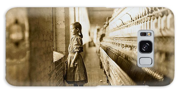 Girl Spinner 11 Years Old Rhodes Manufacturing Co Lincolnton 1908 Galaxy Case