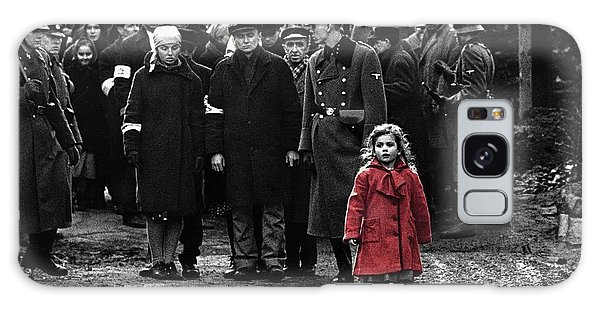 Girl With Red Coat Publicity Photo Schindlers List 1993 Galaxy Case