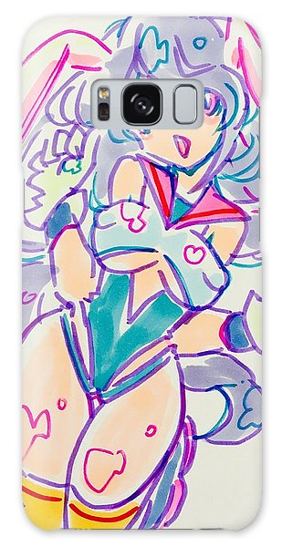 Girl02 Galaxy Case