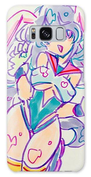 Galaxy Case - Girl02 by Kirin Yotsuya