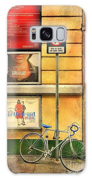 Girlfriend Bicycle Galaxy Case by Craig J Satterlee