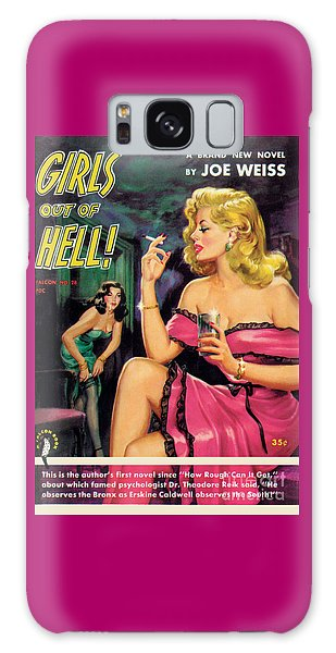 Girls Out Of Hell Galaxy Case by George Gross