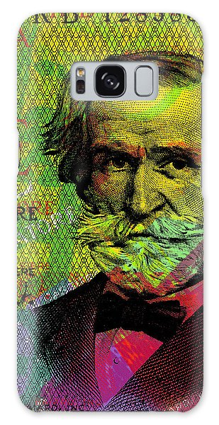 Giuseppe Verdi Portrait Banknote Galaxy Case
