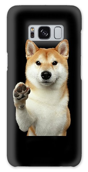 Give Me A Hand Man Galaxy Case