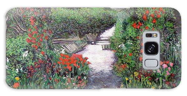 Giverney Garden Path Galaxy Case