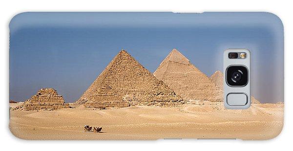 Giza Pyramids Galaxy Case