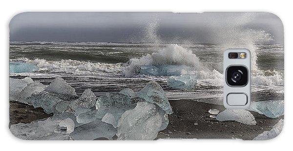 Glacial Lagoon Iceland 2 Galaxy Case