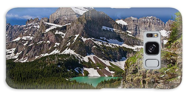 Galaxy Case featuring the photograph Glacier Backcountry 2 by Gary Lengyel