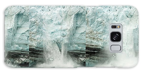 Glacier Calving Sequence 1 Galaxy Case by Robert Shard
