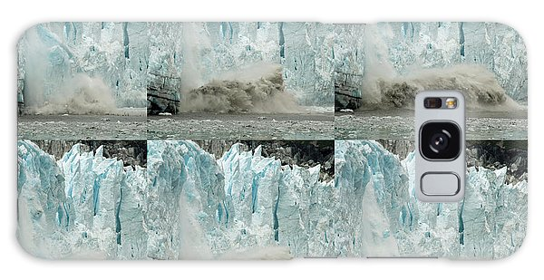 Glacier Calving Sequence 3 Galaxy Case by Robert Shard