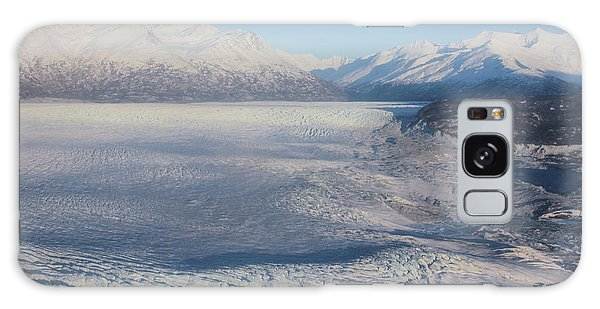 Glacier In Alaska Galaxy Case by Jingjits Photography