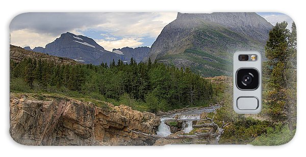Glacier National Park Landscape Galaxy Case