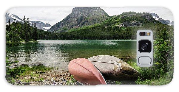 Glacier National Park Galaxy Case