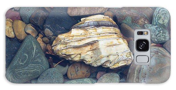 Glacier Park Creek Stones Submerged Galaxy Case