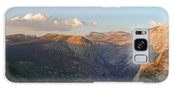 Glacier Point Panorama Galaxy Case