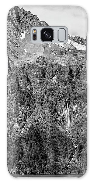 Glacier Waterfall Galaxy Case
