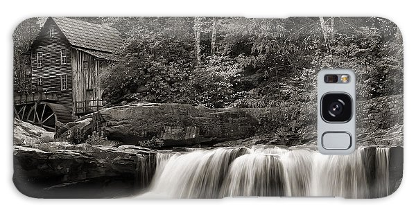 Glade Creek Grist Mill Monochrome Galaxy Case