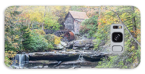 Glade Creek Grist Mill In Autumn Galaxy Case