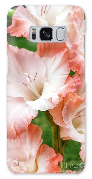 Gladiolus Ruffles  Galaxy Case