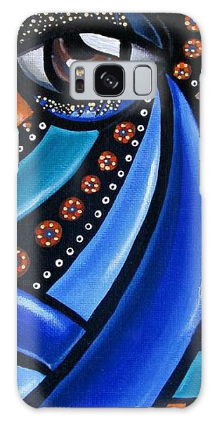 Abstract Eye Art Acrylic Eye Painting Surreal Colorful Chromatic Artwork Galaxy Case