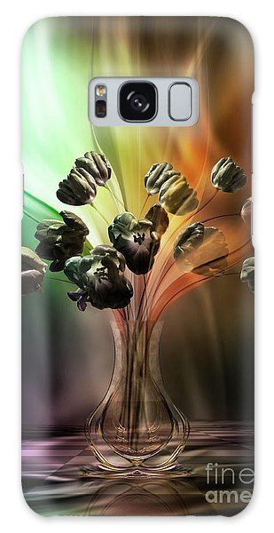 Glasblower's Tulips Galaxy Case