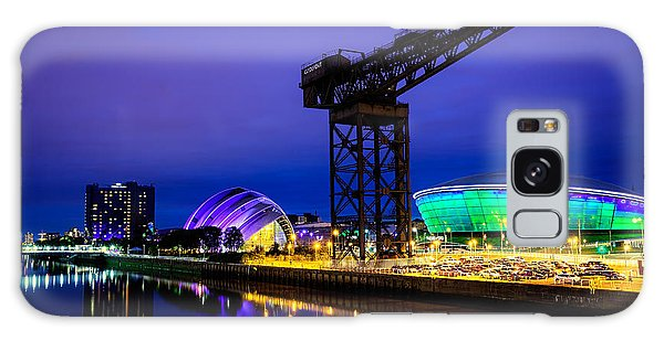 Glasgow At Night Galaxy Case by Ian Good