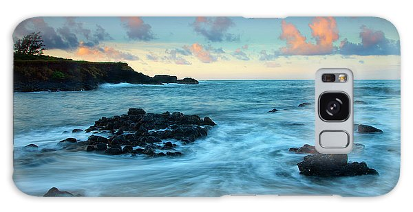 Glass Beach Dawn Galaxy Case