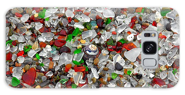 Glass Beach Fort Bragg Mendocino Coast Galaxy Case