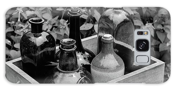 Glass Bottles In The Garden Galaxy Case