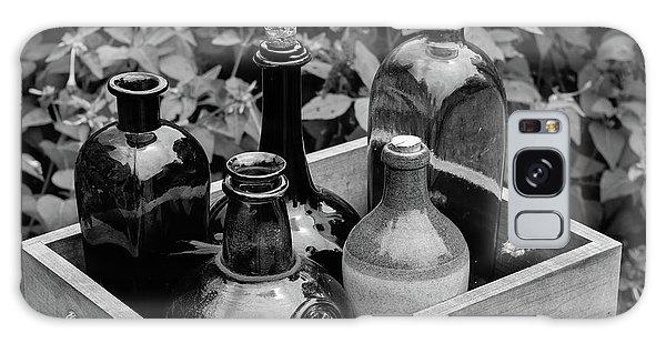 Glass Bottles In The Garden Galaxy Case