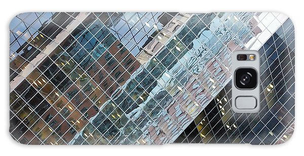 Glass Buildings 4 Galaxy Case by Robert Knight