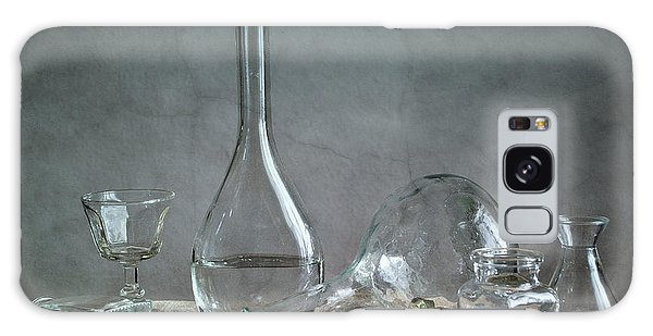 Glass Galaxy Case - Glass by Nailia Schwarz