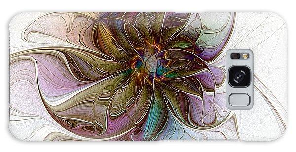 Glass Petals Galaxy Case