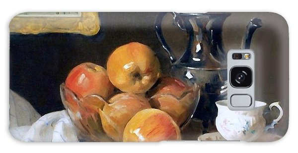 Glass, Silver And Apples Galaxy Case