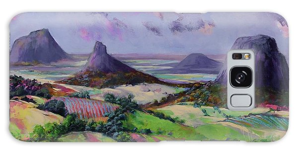 Glasshouse Mountains Dreaming Galaxy Case
