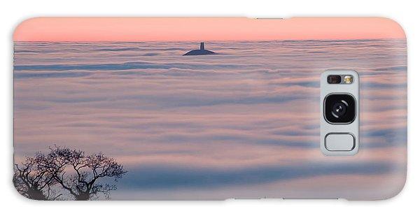 Glastonbury Tor Above The Fog Galaxy Case