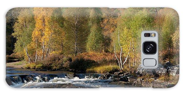 Galaxy Case featuring the photograph Glen Affric In Autumn by Karen Van Der Zijden