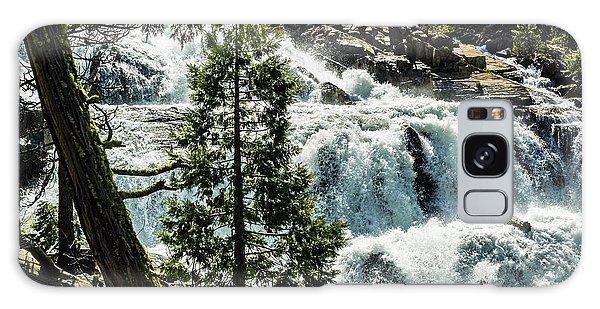 Glen Alpine Falls 1 Galaxy Case