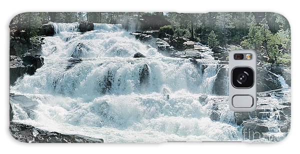 Glen Alpine Falls Mist Galaxy Case