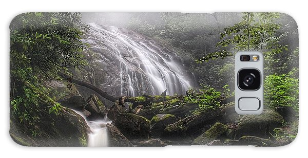 Glen Burney Falls Galaxy Case