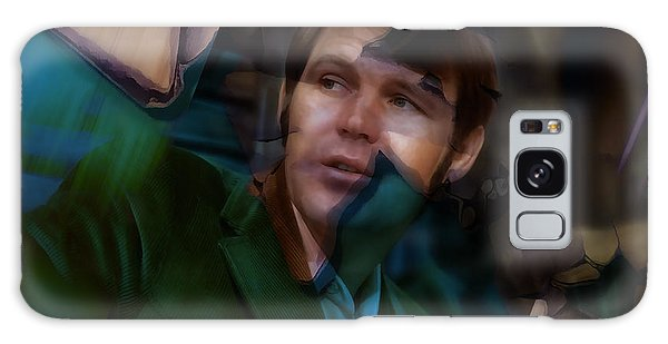 Galaxy Case featuring the mixed media Glen Campbell Tribute by Marvin Blaine