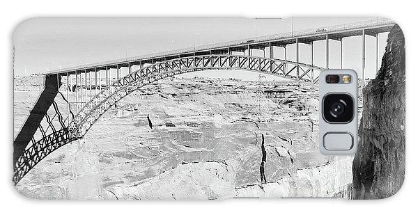 Glen Canyon Bridge Bw Galaxy Case