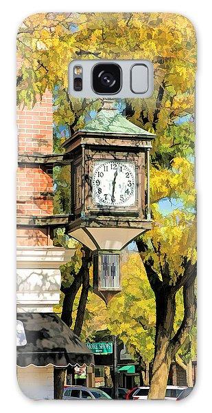 Clock Galaxy Case - Glen Ellyn Corner Clock by Christopher Arndt