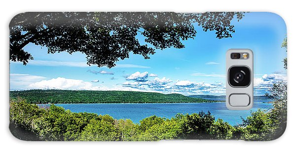 Galaxy Case featuring the photograph Glen Lake by Onyonet  Photo Studios