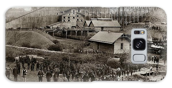 Glen Lyon Pa Susquehanna Coal Co Breaker Late 1800s Galaxy Case