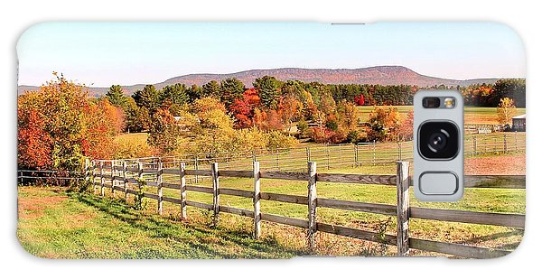 Glendale Road View In The Fall Galaxy Case