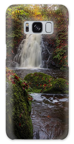 Gleno Falls Portrait View Galaxy Case