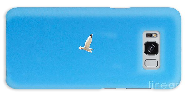 Gliding Seagull Galaxy Case