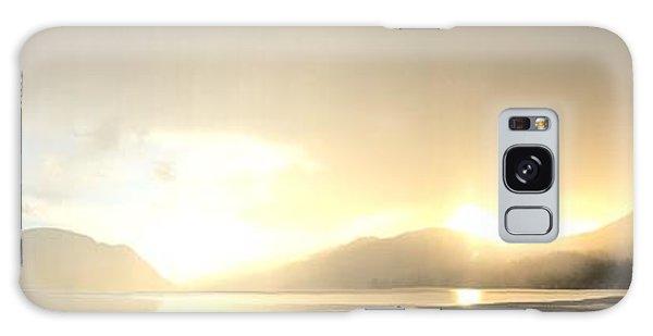 Glittering Shower Galaxy Case